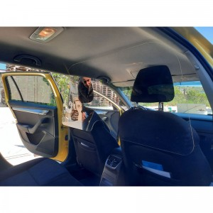 Plexi Glass για ταξί